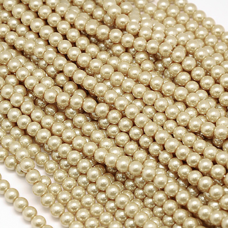 """1strand 10mm Environmental Dyed Glass Pearl Round Beads about 42pcs/strand 15"""""""