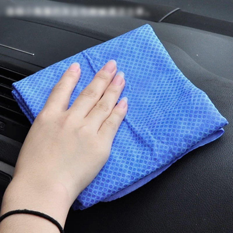 magic car cleaning washing wipe towel cloth absorber synthetic chamois leather ebay. Black Bedroom Furniture Sets. Home Design Ideas