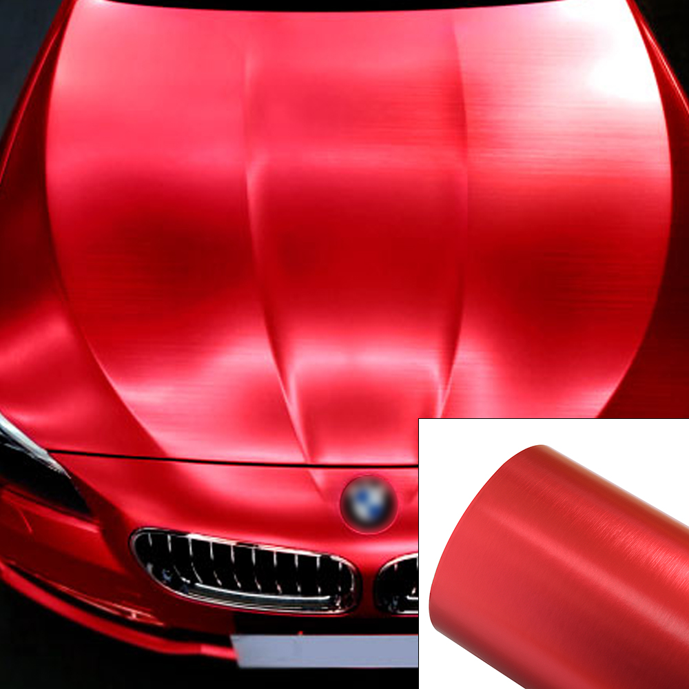 vinyl film wrap car metallic brushed multi color sheet diy air release decal new ebay. Black Bedroom Furniture Sets. Home Design Ideas