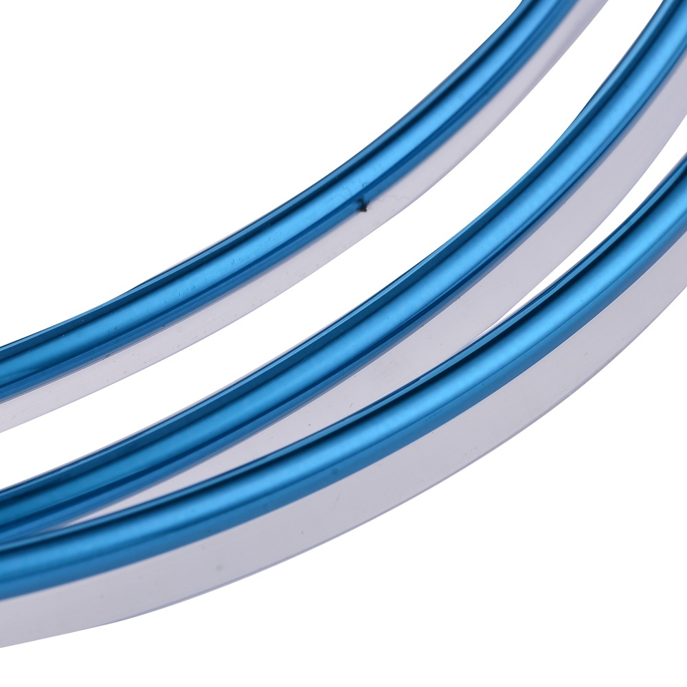 5m flexible trim for car interior exterior moulding strip decorative line blue ebay. Black Bedroom Furniture Sets. Home Design Ideas