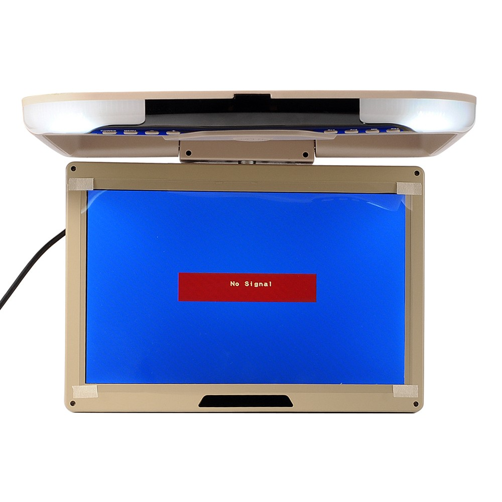 13 car monitor flip down ceiling lcd tft monitor roof. Black Bedroom Furniture Sets. Home Design Ideas