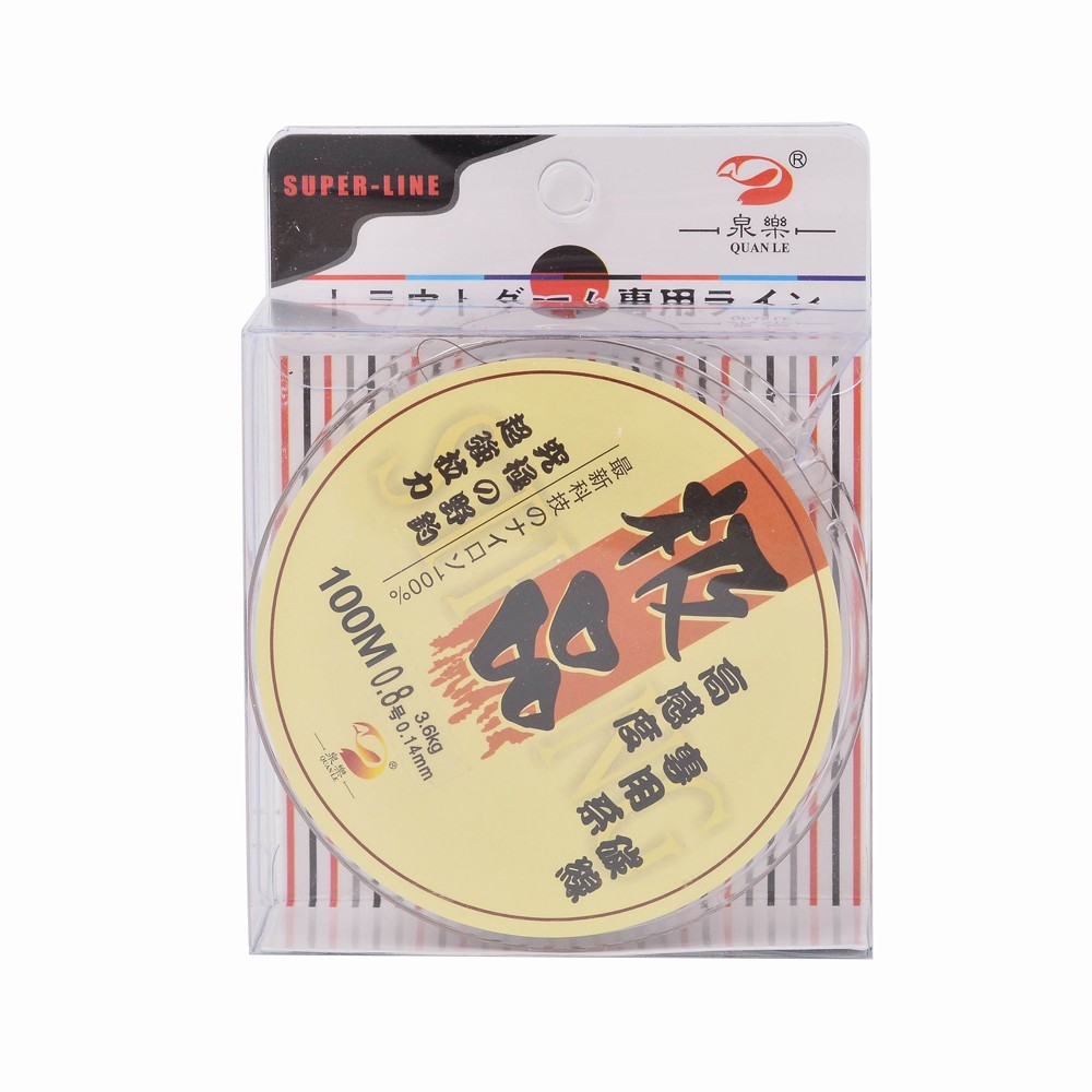 100m super strong fishing line sea fish lines monofilament for Strong fishing line