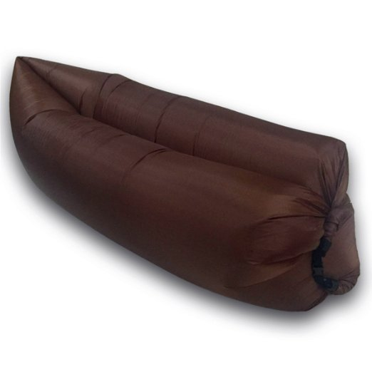 Inflatable Sofa Air Bed Lounger: Portable Camping Lounger Air Sofa Inflatable Sleeping Bag