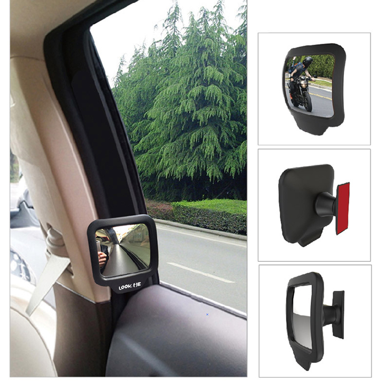 Broom Stick Bunny Mirror: Adjustable Blind Spot Mirror Stick Wide Angle Car Rv Truck