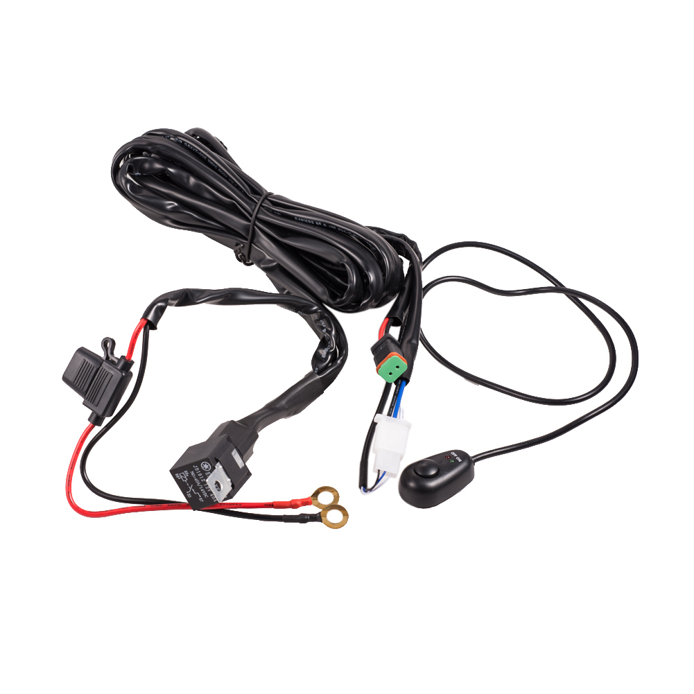 Universal Wiring Kit Fog Light Driving Lamps Wiring