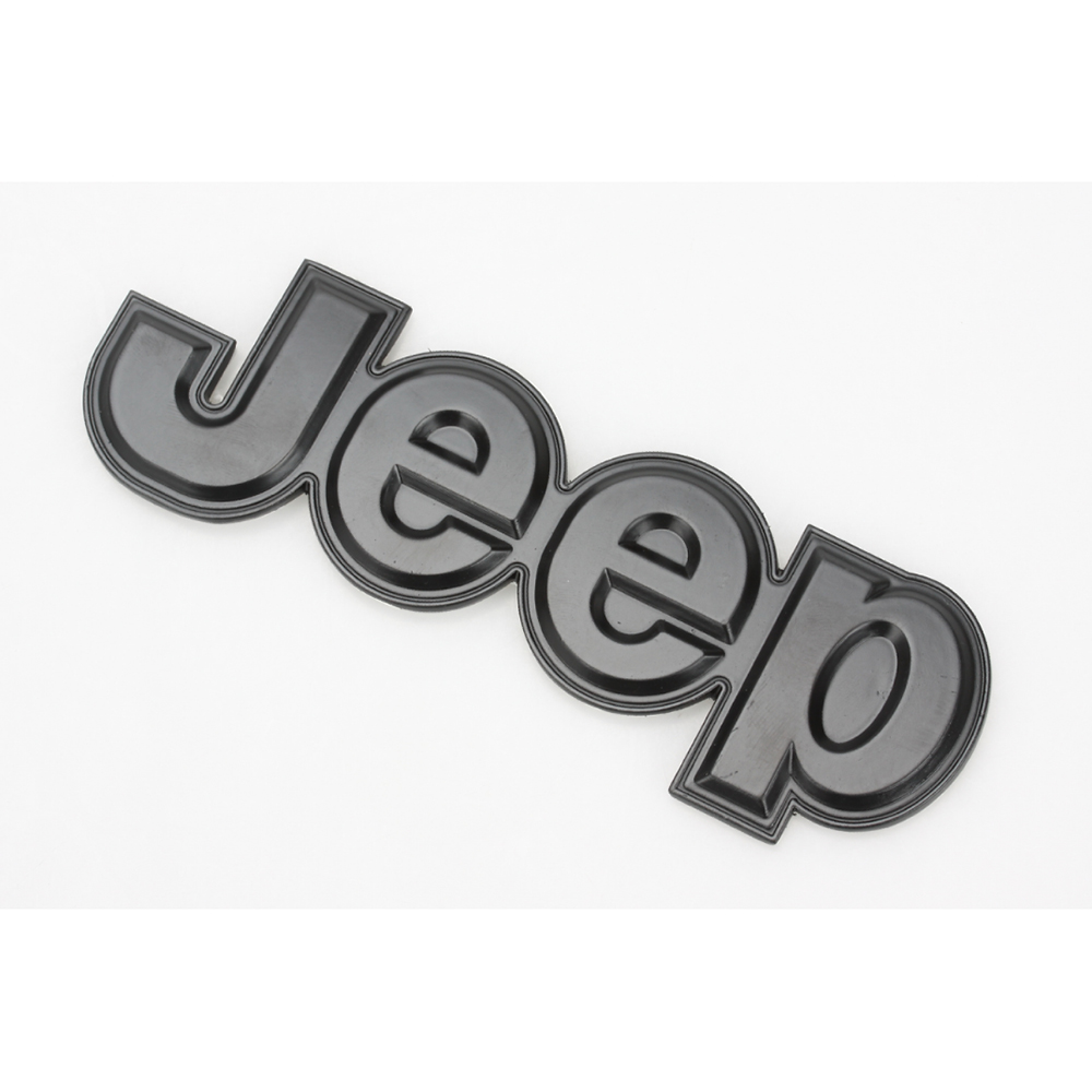 new jeep chrome logo 3d decal emblem logo sticker for jeep