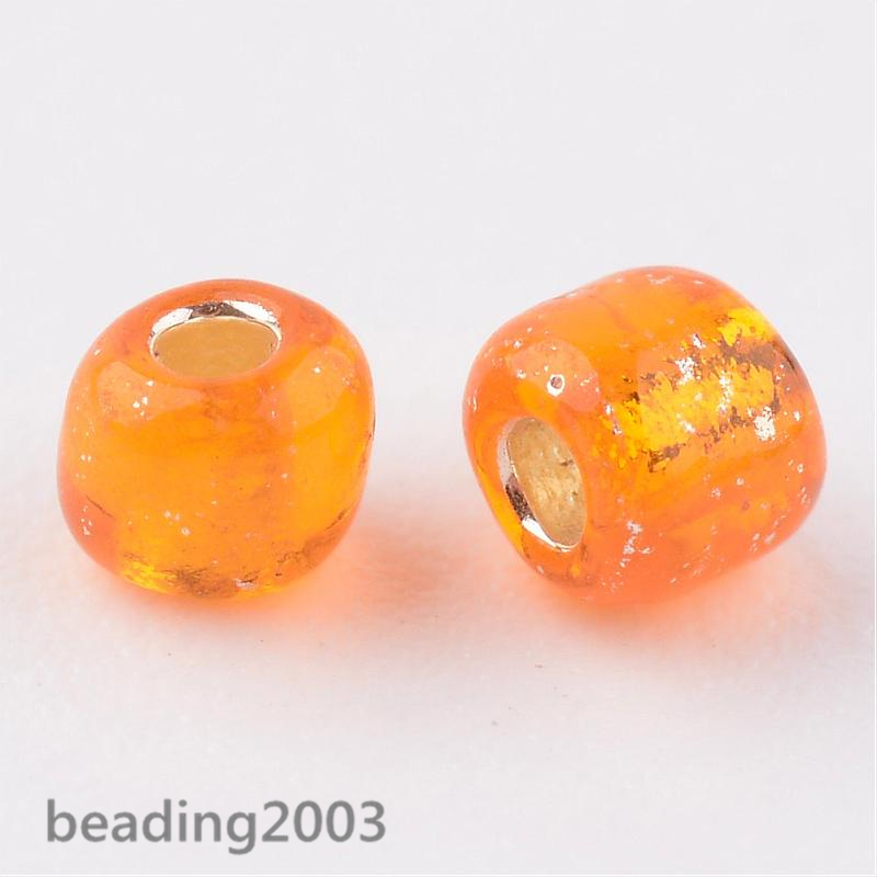50g-3mm-8-0-Round-Glass-Silver-Lined-Seed-Beads-19-Colors-Jewellery-Craft-Making thumbnail 46