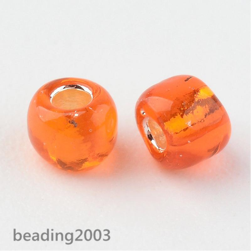 50g-3mm-8-0-Round-Glass-Silver-Lined-Seed-Beads-19-Colors-Jewellery-Craft-Making thumbnail 43