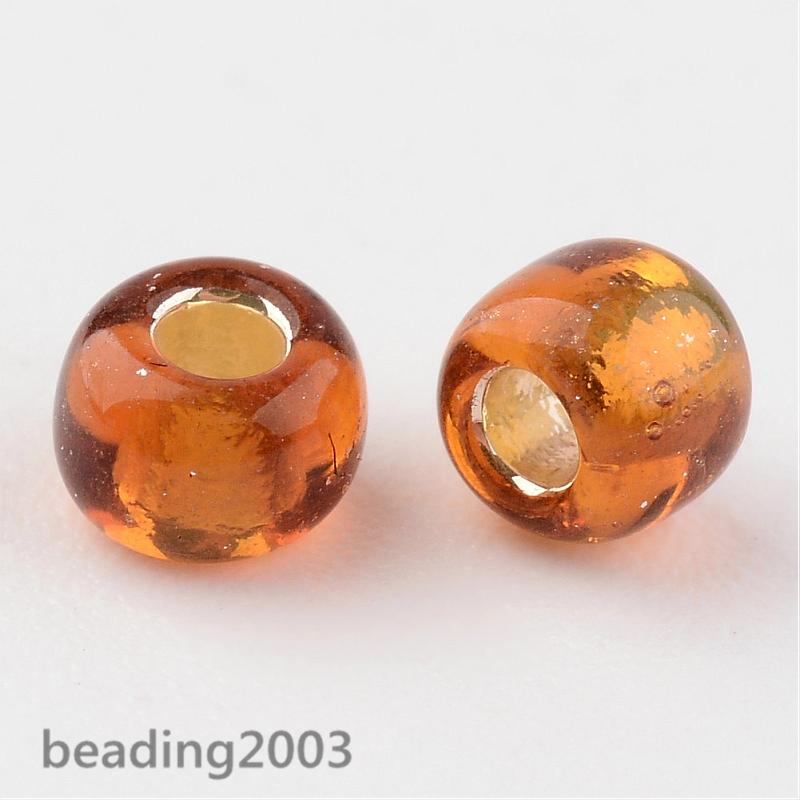 50g-3mm-8-0-Round-Glass-Silver-Lined-Seed-Beads-19-Colors-Jewellery-Craft-Making thumbnail 37