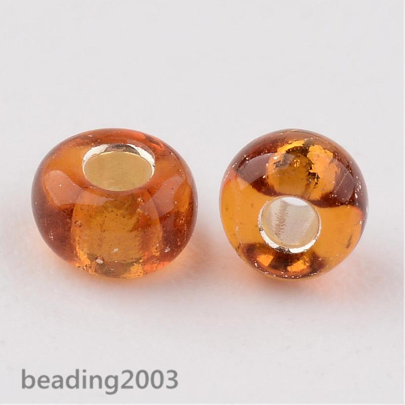 50g-3mm-8-0-Round-Glass-Silver-Lined-Seed-Beads-19-Colors-Jewellery-Craft-Making thumbnail 31