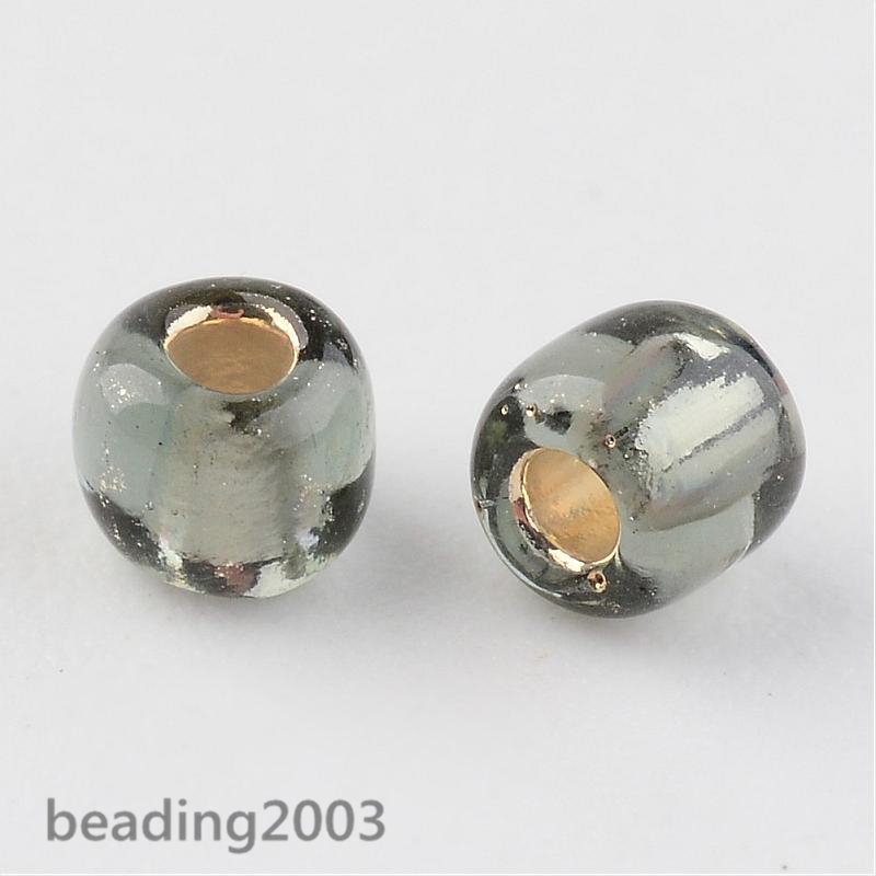 50g-3mm-8-0-Round-Glass-Silver-Lined-Seed-Beads-19-Colors-Jewellery-Craft-Making thumbnail 49