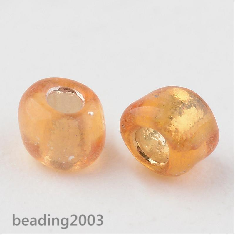 50g-3mm-8-0-Round-Glass-Silver-Lined-Seed-Beads-19-Colors-Jewellery-Craft-Making thumbnail 28