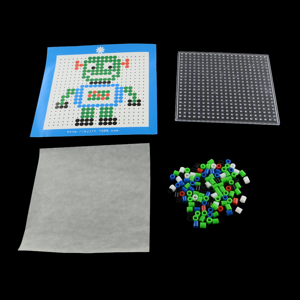 This is a picture of Obsessed Fuse Bead Templates