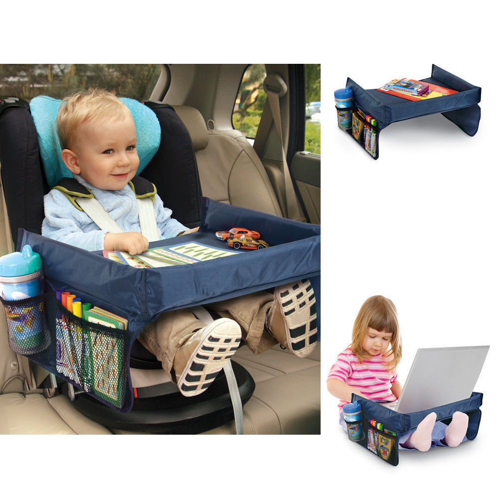 Portable Safety Kids Toddler Car Seat Travel Tray Activity Drawing ...
